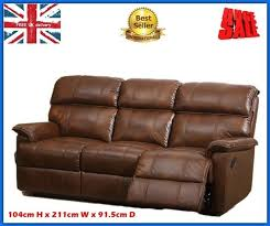 Brown Leather Recliner Sofa Best 25 Leather Reclining Sofa Ideas On Pinterest Power