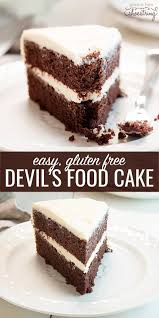 gluten free devil u0027s food cake u2014with video how to