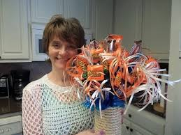 How To Make A Candy Bouquet How To Make A Birthday Candy Bouquet Youtube