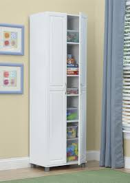 24 inch deep storage cabinets systembuild furniture kendall 24 utility storage cabinet white