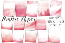 watercolor ombre background textures creative market