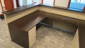 Desk Reception Brown Reception Desk Vof Office Furniture Design