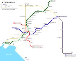 Greece Maps by Athens Greece Europe Urban Metro Map Pinterest Athens