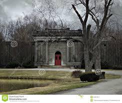 graveyard scene stock photo image 42964237