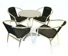 Aluminium Bistro Chairs Folding Portable Table For Sale In Uk Camping Table Pinterest