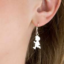 girl earrings boy or girl sterling silver earrings for by tales from the