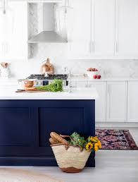 blue kitchen island blue kitchen island