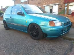 toyota starlet sportif turbo sleeper very quick car 200 bhp glanza