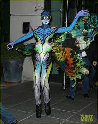 butterfly halloween costume heidi klum u0027s halloween costume is as amazing as expected photo