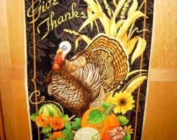 turkey fabric panel etsy