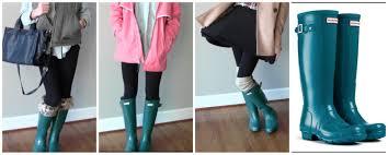 Rainboots How I Style Hunter Rain Boots Youtube