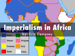 Imperialism Africa Map by Imperialism In Africa By Erin Dempsey