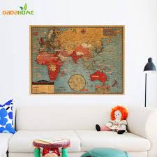 compare prices on wall decor world map sticker online shopping