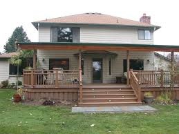 ideas deck and patio covers gray balcony for in front of home also