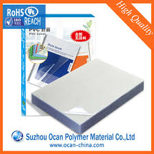 Plastic Cover Sheets For Paper by Transparent Pvc Sheet For Binding Covers Transparent Pvc Sheet