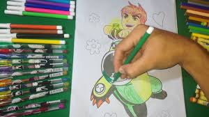 coloring ditto ben 10 ben 10 ditto coloring book kids