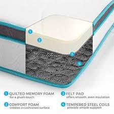 sleep innovations memory foam queen size mattress