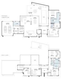 Split Level Plans by Floor Plan Friday Corner Block Split Level