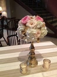 flowers okc new leaf florist okc weddings blush gold wedding