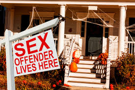 no u0027trick or treating u0027 sign ordered for offender u0027s home