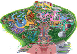 printable map disneyland paris park tomorrowland adventureland fantasyland frontierland