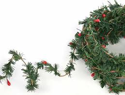 miniature fir berry roping garland garlands