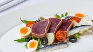 restaurant cuisine nicoise tuna nicoise savoy grill nicoise