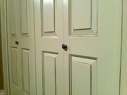 Closet Door Handle Bifold Closet Door Photo 2 Of 6 Closet Door Knob Placement