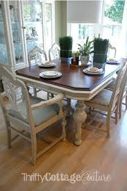 painted dining room set painted dining room sets antique table updated with chalk paint 5