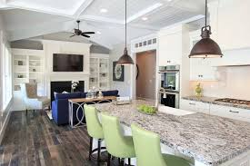 Kitchen Chandelier Lighting Lighting Options The Kitchen Island