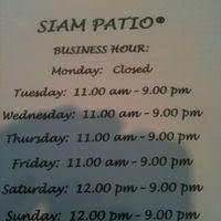Siam Patio Fair Oaks Ca Siam Patio Thai Cuisine Fair Oaks Sacramento Urbanspoon Zomato