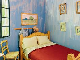 chambre à coucher gogh airbnb reproduit la chambre à coucher de vincent gogh grazia