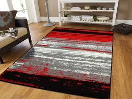 Designer Area Rugs Modern Gray Silver Rugs You Ll Wayfair Within Black And Grey