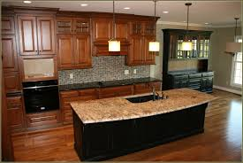 lowes kitchen island cabinet decorating brown kitchen cabinets and pendant lighting by kichler