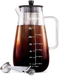 Cold Drip Coffee or Iced Coffee Maker 1500 ml Glass Carafe Includes