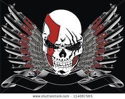gun skull stock images royalty free images vectors