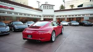 red porsche 911 2013 porsche 911 carrera 4s guards red 991 coupe 7 speed beverly