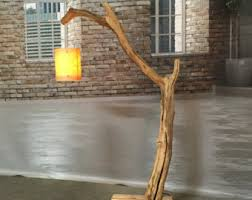 wood floor lamp etsy