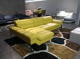 Yellow Sectional Sofa with Divani Casa 994b Modern Yellow Leather Sectional Sofa Leather