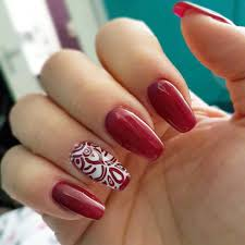 19 red nail art designs 29 red finger nail art designs ideas