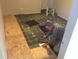 Laminate Floor Padding Vapour Barrier On Basement Concrete Floor Pro Construction Forum