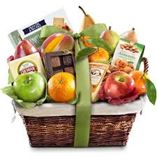 Gourmet Fruit Baskets Amazon Com Golden State Fruit The Classic Deluxe Fruit Basket
