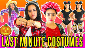 cheap and easy halloween costumes
