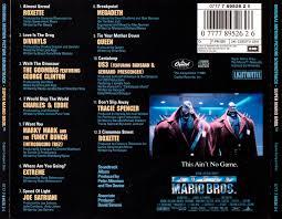 super mario bros movie archive music audio releases