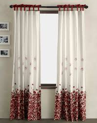 White Contemporary Curtains Kitchen Contemporary Curtain Ideas For Large Windows Attractive