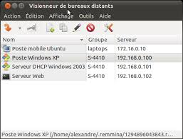 bureau a distance windows xp bureau à distance depuis ubuntu homesetup expert serveur nas
