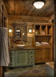 rustic cabin bathroom make mine rustic pinterest rustic