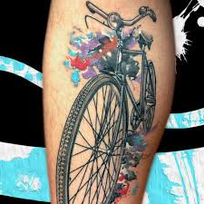 bicycle tattoos turning cycling into body art tot