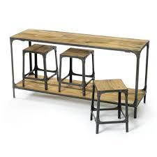 Sofa Table With Stools Sofa Table With Stools Brussel Console Table With Stool Console