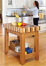 Woodworking Plans For Kitchen Tables by Diy Islands To Complete Your Kitchen